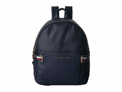 Tommy Hilfiger Tommy Navy Meriden Pebble Pvc Backpack