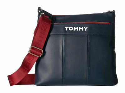 Tommy Hilfiger - Tommy Hilfiger Tommy Navy Peyton Large North/South Cross Body Bag