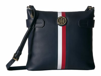 Tommy Hilfiger - Tommy Hilfiger Tommy Navy Tami Large North/South Cross Body Bag