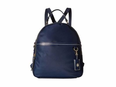 Tommy Hilfiger - Tommy Hilfiger Tommy Navy Work Nylon Backpack