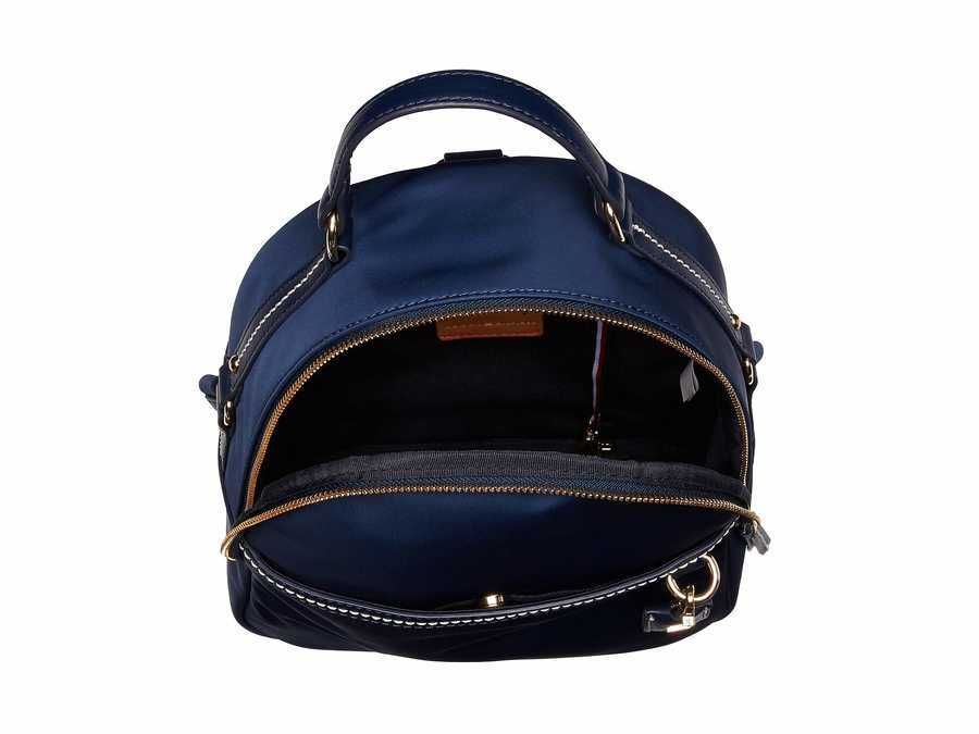 Tommy Hilfiger Tommy Navy Work Nylon Backpack