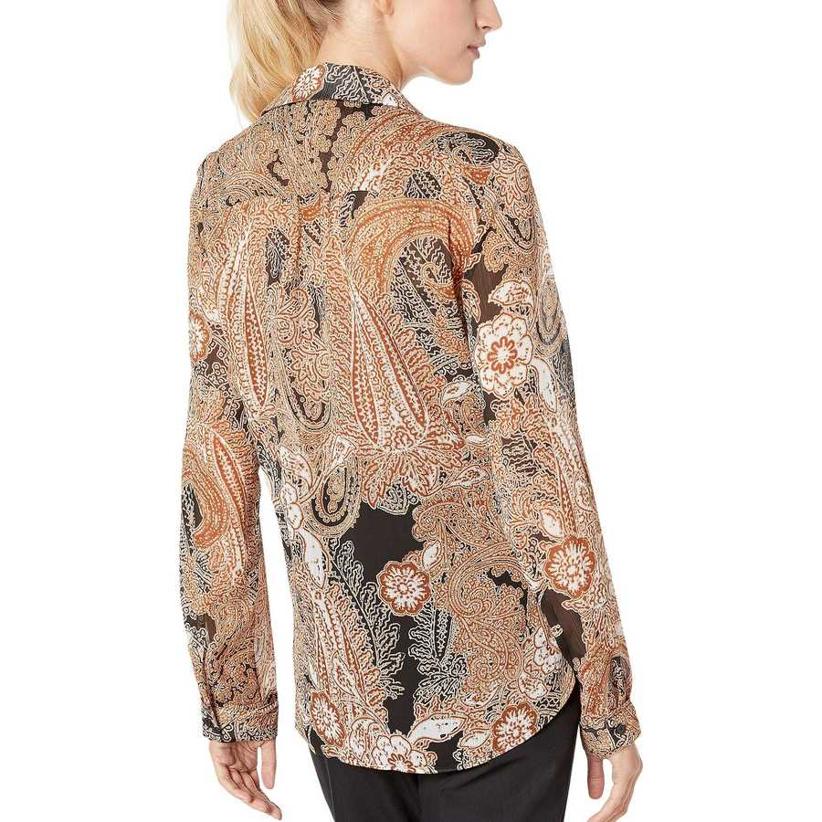 Tommy Hilfiger Tortoise Multi Player Blouse Long