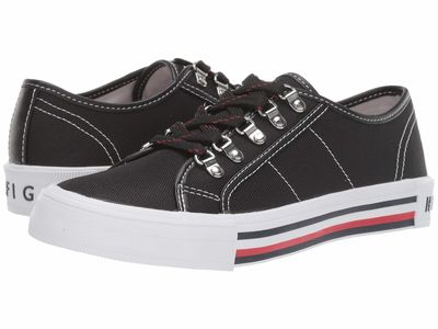Tommy Hilfiger - Tommy Hilfiger Women Black Hill Lifestyle Sneakers
