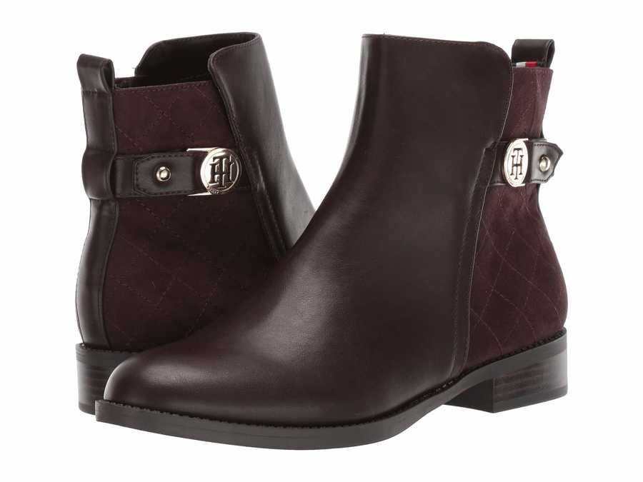 Tommy Hilfiger Women Brown İsleen Ankle Bootsbooties