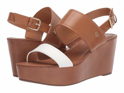 Tommy Hilfiger - Tommy Hilfiger Women Light Natural Ll Wilder Heeled Sandals