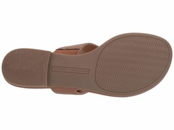 Tommy Hilfiger Women Natural Sinder Flat Sandals - Thumbnail