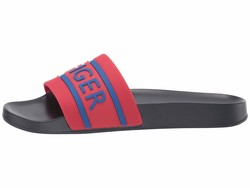 Tommy Hilfiger Women Red Denim Active Sandals - Thumbnail