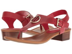 Tommy Hilfiger Women Red Kandess Heeled Sandals - Thumbnail