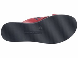 Tommy Hilfiger Women Red Sonyah Flat Sandals - Thumbnail