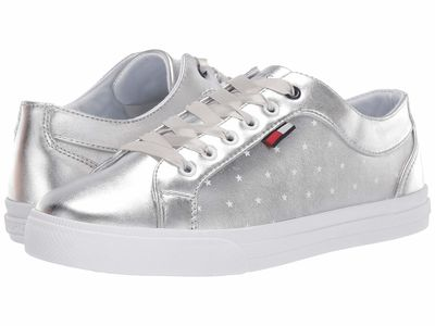 Tommy Hilfiger - Tommy Hilfiger Women Silver Layton Lifestyle Sneakers