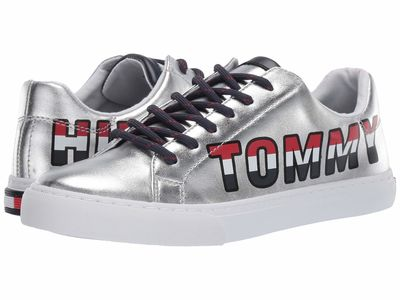 Tommy Hilfiger Women Silver Loni Lifestyle Sneakers