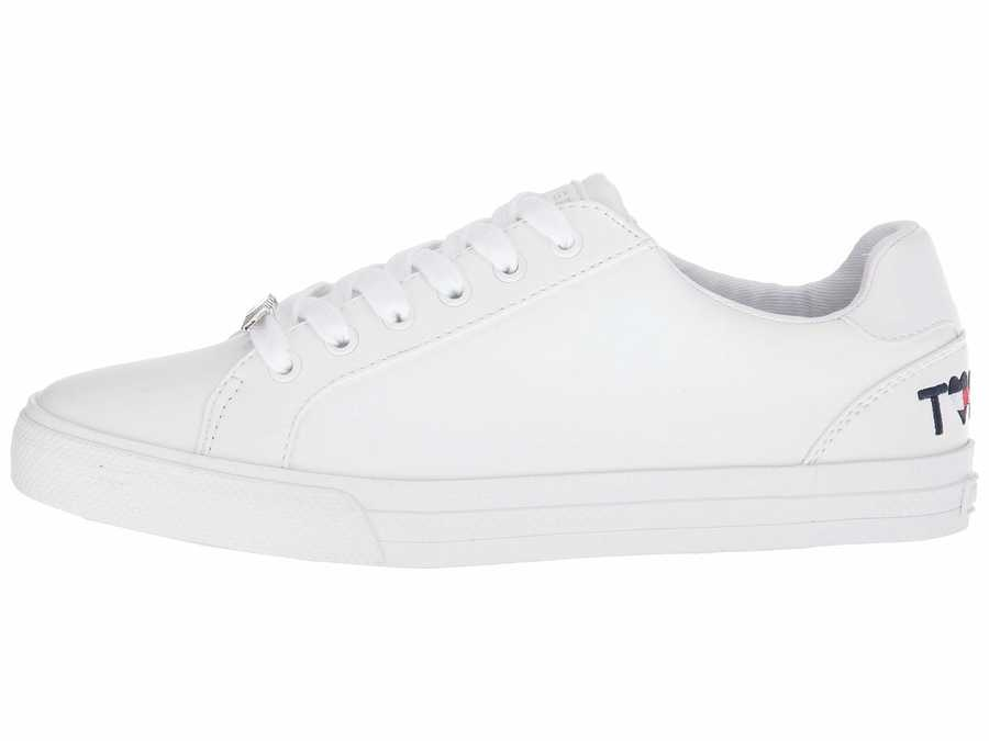 Tommy Hilfiger Women White Alune Lifestyle Sneakers