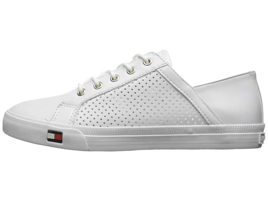 Tommy Hilfiger Women White Amonte Lifestyle Sneakers