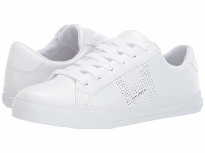 Tommy Hilfiger Women White Aydea Lifestyle Sneakers