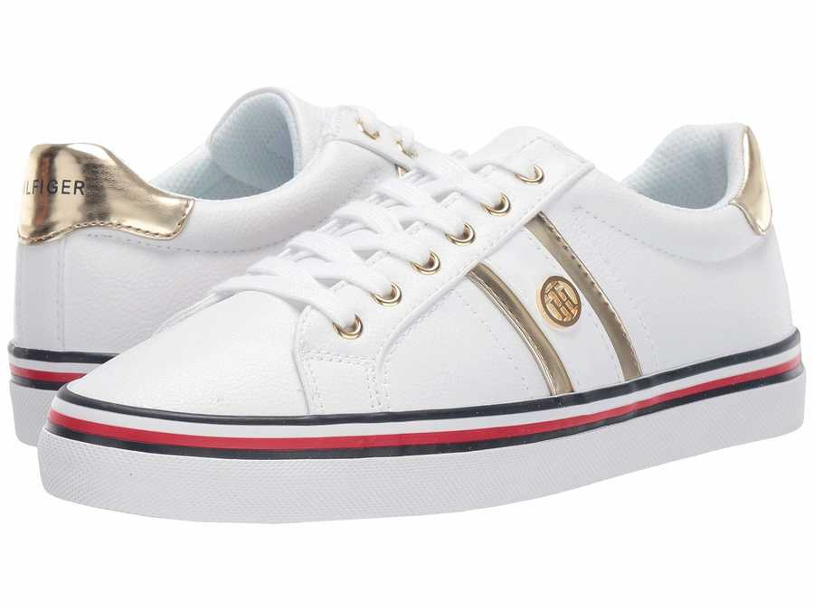 Tommy Hilfiger Women White Fortunes Lifestyle Sneakers