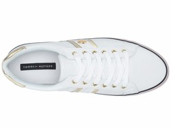 Tommy Hilfiger Women White Fortunes Lifestyle Sneakers - Thumbnail