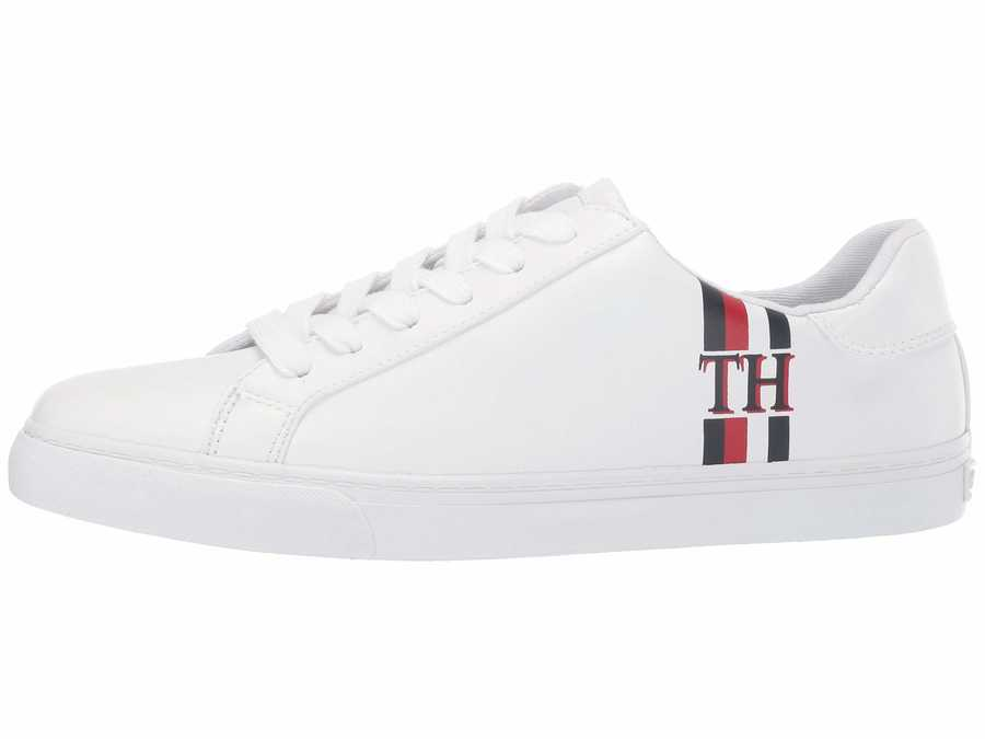 Tommy Hilfiger Women White Lewie Lifestyle Sneakers