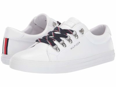 Tommy Hilfiger - Tommy Hilfiger Women White Linzer 3 Lifestyle Sneakers