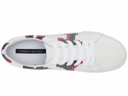 Tommy Hilfiger Women White Lolsin Lifestyle Sneakers - Thumbnail