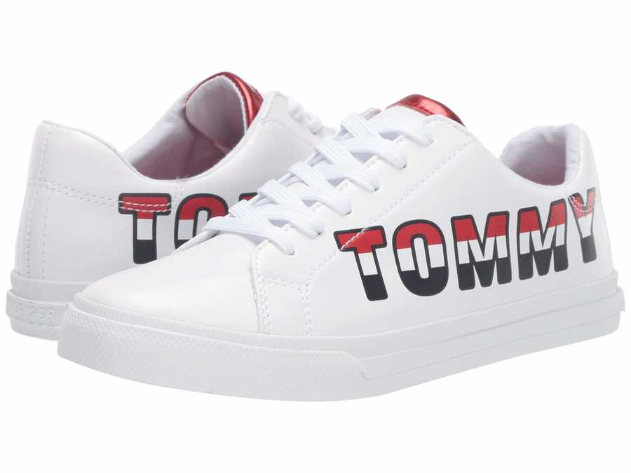 Tommy Hilfiger Women White Lonia Lifestyle Sneakers