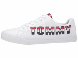 Tommy Hilfiger Women White Lonia Lifestyle Sneakers - Thumbnail