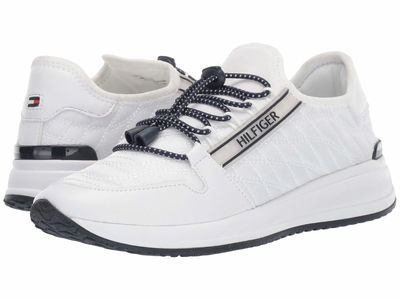 Tommy Hilfiger - Tommy Hilfiger Women White Remidee Lifestyle Sneakers