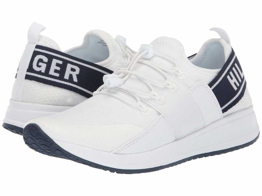 Tommy Hilfiger Women White Roots Lifestyle Sneakers