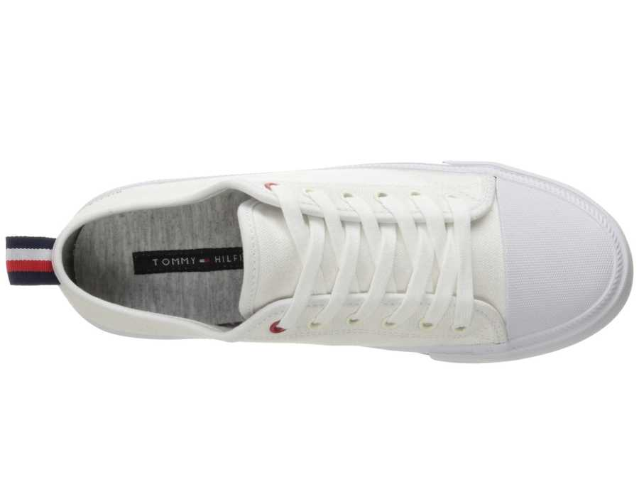 Tommy Hilfiger Women White Tayla Lifestyle Sneakers