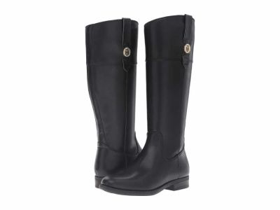 Tommy Hilfiger - Tommy Hilfiger Women's Black Shano Knee High Boots