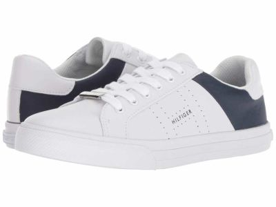 Tommy Hilfiger - Tommy Hilfiger Women's Blue Multi Lorio Lifestyle Sneakers