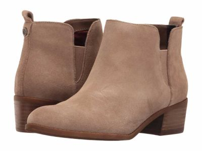 Tommy Hilfiger - Tommy Hilfiger Women's Cool Taupe Randall Chelsea Boots