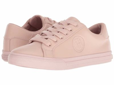 Tommy Hilfiger - Tommy Hilfiger Women's Light Pink Leather Luka Lifestyle Sneakers