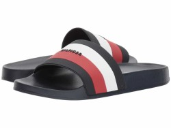 Tommy Hilfiger Women's Navy Chili Pepper White Dria Active Sandals - Thumbnail