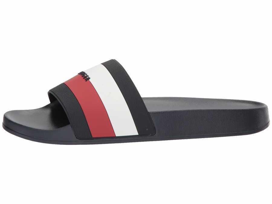 Tommy Hilfiger Women's Navy Chili Pepper White Dria Active Sandals