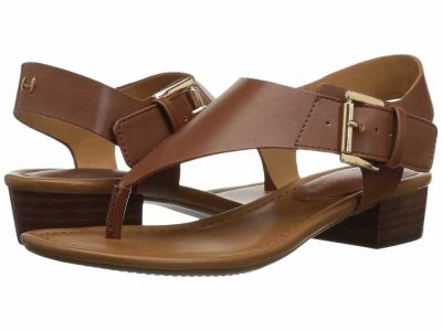 Tommy Hilfiger - Tommy Hilfiger Women's Tan Kitty 2 Flat Sandals
