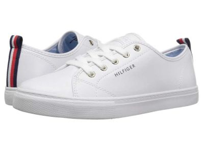 Tommy Hilfiger - Tommy Hilfiger Women's White Lumidee 2 Sneakers Athletic Shoes 885839314
