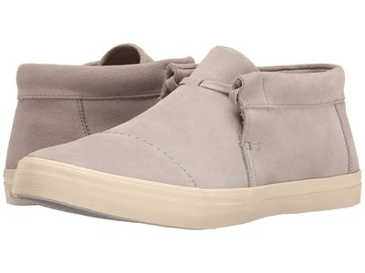 Toms - Toms Men Drizzle Grey Suede Emerson Mid Sneaker Lifestyle Sneakers