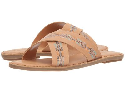 Toms - Toms Women Honey Leather/Emossed Viv Flat Sandals