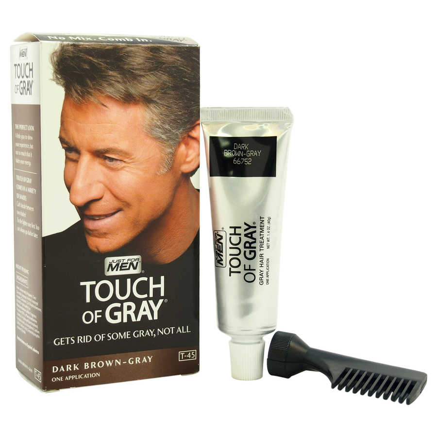 Touch of Gray Hair Treatment T-45 Dark Brown-Gray 1Application