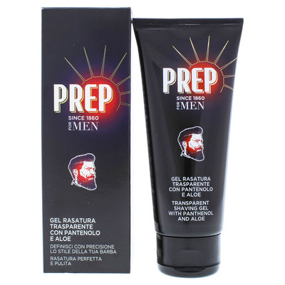 Prep - Transparent Shaving Gel with Panthenol and Aloe 3,4oz