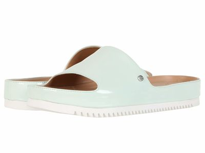 Ugg - Ugg Women Agave Glow Jane Patent Flat Sandals
