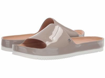 Ugg Women Oyster Jane Patent Flat Sandals