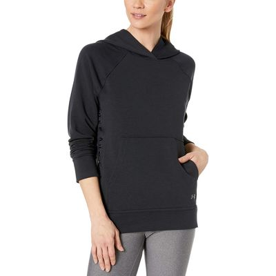 Under Armour - Under Armour Black/Black/Tonal Featherweight Fleece Hoodie
