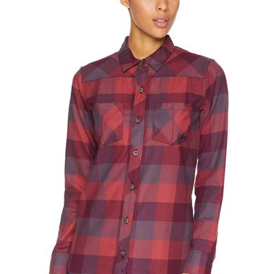 Under Armour - Under Armour Dark Maroon/Purple Switch/Purple Switch Ua Tradesman Flannel