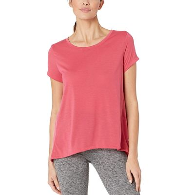 Under Armour - Under Armour Impulse Pink/Impulse Pink/Tonal Ua Whisperlight Short Sleeve Fold-Over