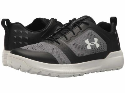 Under Armour - Under Armour Men's Black Overcast Gray White UA Scupper Boat Shoes
