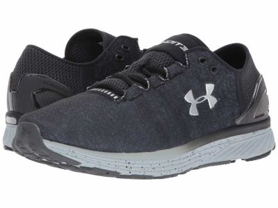 Under Armour - Under Armour Men's Stealth Gray/Black/MSV Charged Bandit 3 Running Shoes