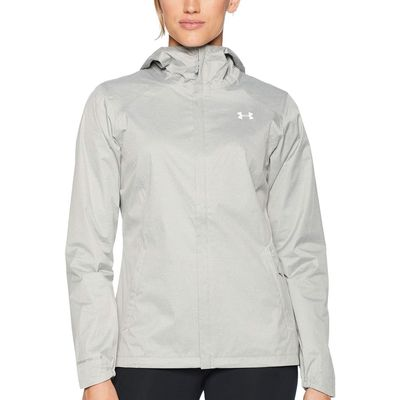 Under Armour - Under Armour Steel Medium Heather/White/White Ua Overlook Jacket