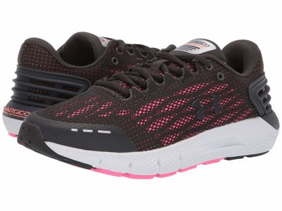 Under Armour - Under Armour Women Jet Gray/Peach Plasma/Jet Gray Ua Charged Rogue Running Shoes