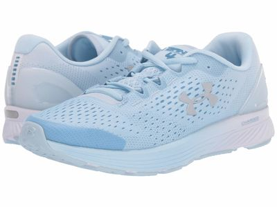 Under Armour - Under Armour Women White/Coded Blue/Reflective Ua Charged Bandit 4 Running Shoes